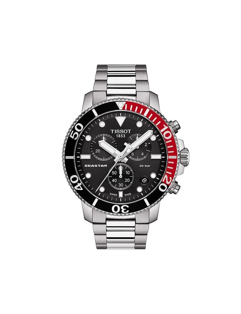 Tissot Seastar 1000 Chronografo rosso e nero T120.417.11.051.01