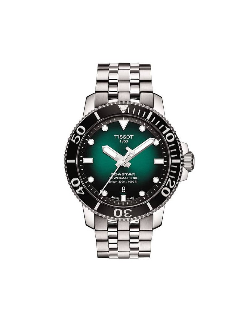 Tissot Seastar 1000 verde powermatic T120.407.11.091.01