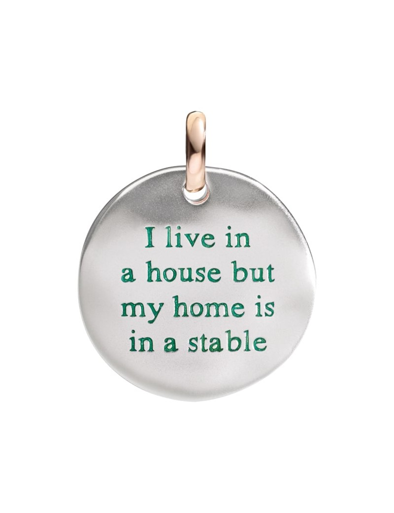 Moneta queriot I live in a house but my home is a stable