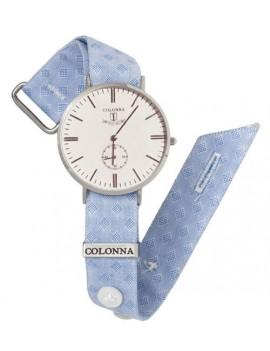 Orologio Colonna azzurro