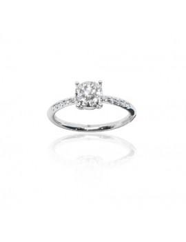 Anello con Diamanti pavé