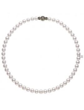 Filo Mikimoto perle 7 x 6.5 A