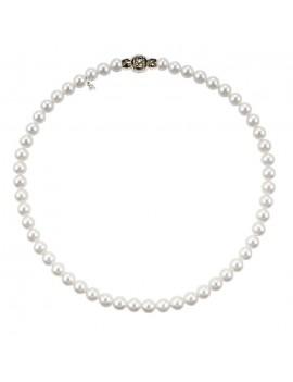 Filo Mikimoto perle 7 x 6.5 A+