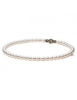 Filo Mikimoto perle 7.5 x 7 A