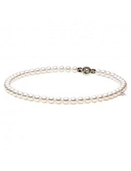 Filo Mikimoto perle 7.5 x 7