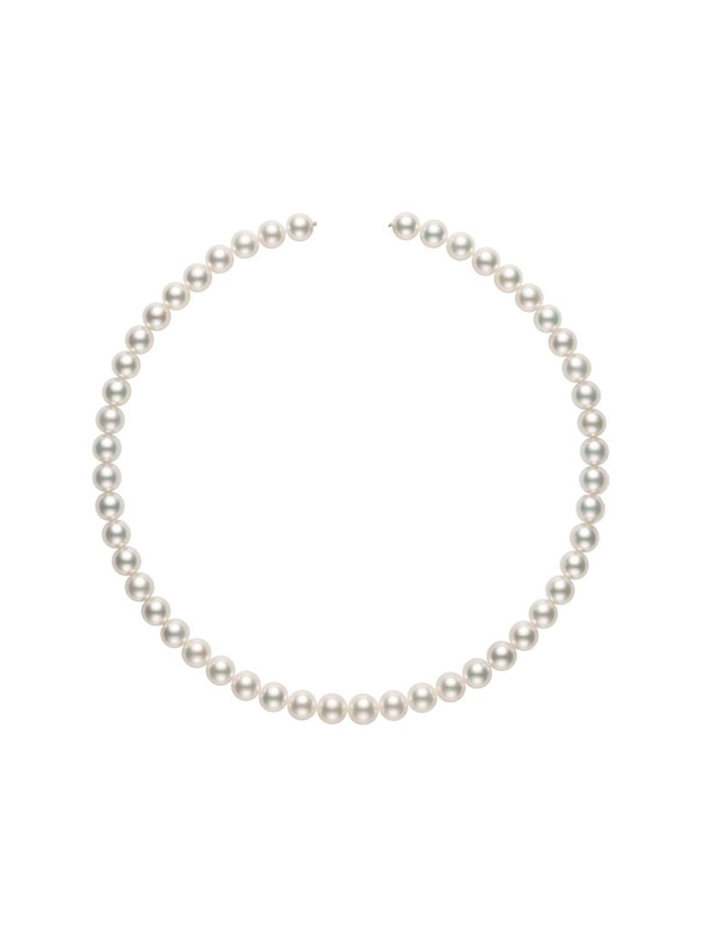 Filo Blue Lagoon Mikimoto perle 8,5 x 8 A