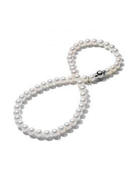 Filo Mikimoto perle 8.5 x 8 A+