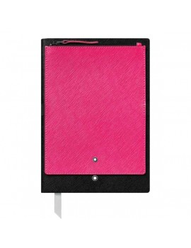 Blocco note Montblanc con tasca rosa