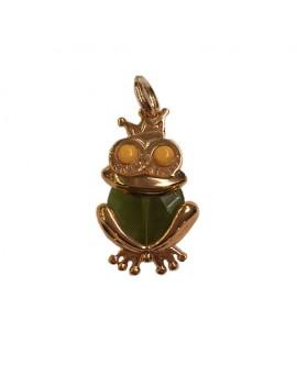 Ciondolo Principe Ranocchio verde