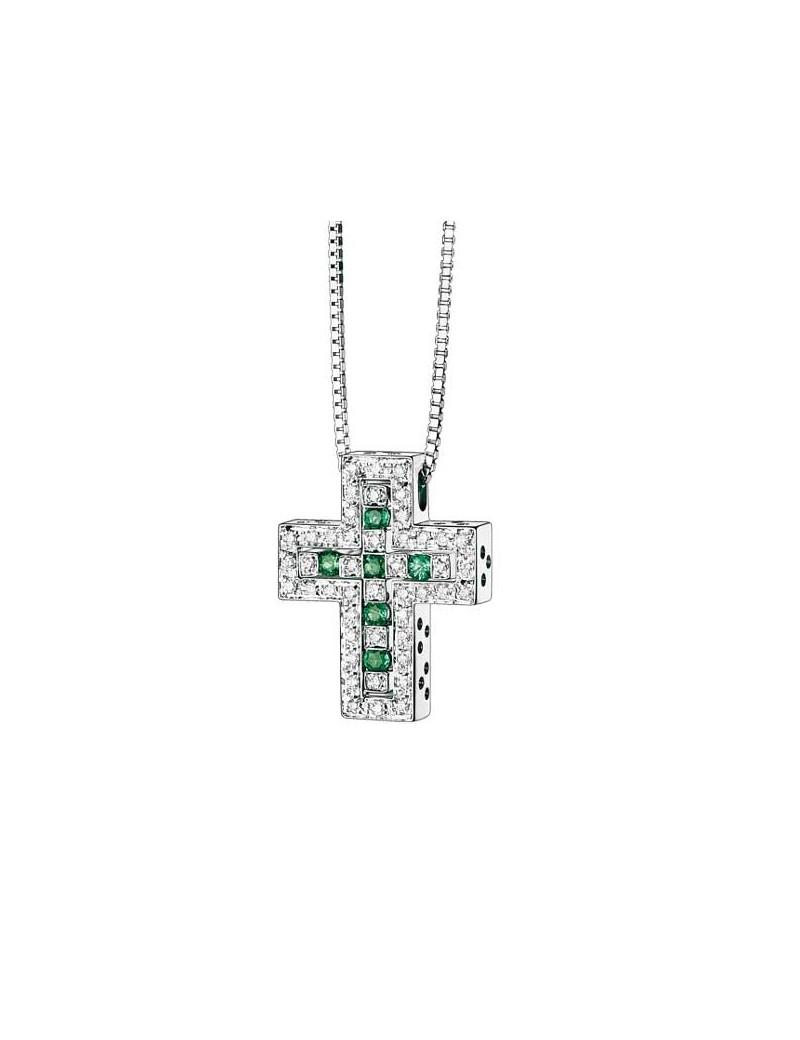 Croce Damiani Belle Epoque smeraldi