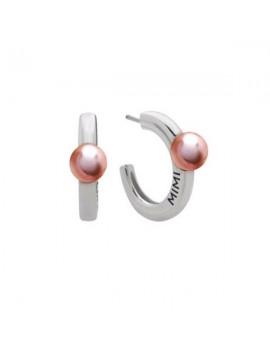 Orecchini Mimi argento a cerchio e perla OLM421XB3
