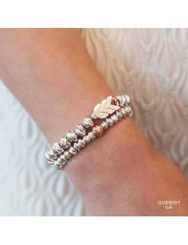 Beads Queriot nodo argento