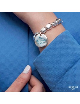 Beads Queriot sasso argento