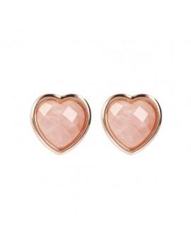 Orecchini Bronzallure cuore rosa WSBZ01563.RQ