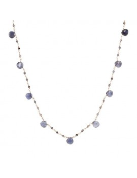 Collana Bronzallure rosario iolite WSBZ01554.IO