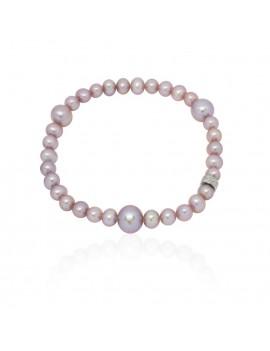 Bracciale Mimì perle viola