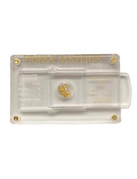 Pepita oro e diamante 0,03 prima materia