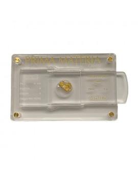 Pepita oro e diamante 0,01 Prima Materia