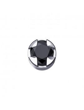 Diamante nero Elements griffe tonda