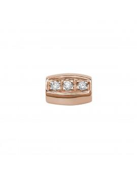 Pepita Elements oro rosa diamanti