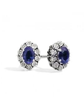 Orecchini DonnaOro zaffiri diamanti DCOZ5413.008