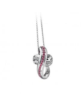 Croce DonnaOro rubini e diamanti DCPR2310.004