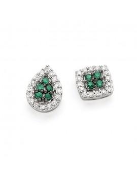 Orecchini DonnaOro smeraldi e diamanti DCOE7459.014