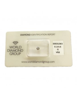 Diamante blister WDG 0,14 ct