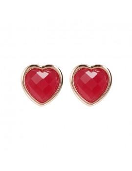 Orecchini Bronzallure cuore rosso WSBZ01563.PA