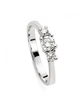 Anello Trilogy DonnaOro oro e diamanti DKAT7676.018