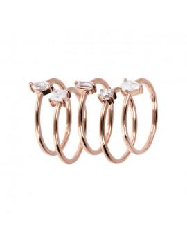 Set anelli Bronzallure Altissima WSBZ01801