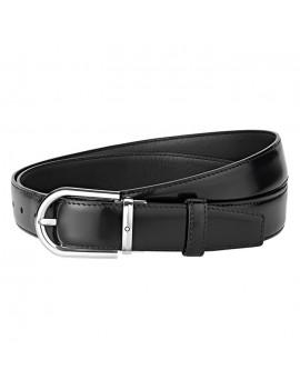 Cintura Montblanc uomo nera 126012