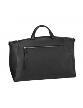 Borsa Montblanc Soft Grain 126247 media nera