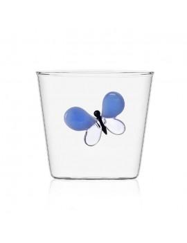 Bicchiere acqua Ichendorf farfalla blu garden picnic