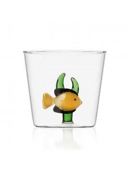 Bicchiere acqua Ichendorf pesce giallo