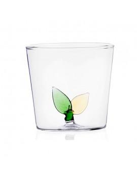 Bicchiere acqua Ichendorf foglie interne greenwood