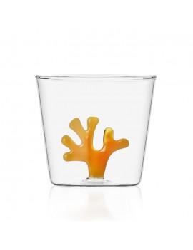 Bicchiere acqua Ichendorf corallo arancione Coral Reef