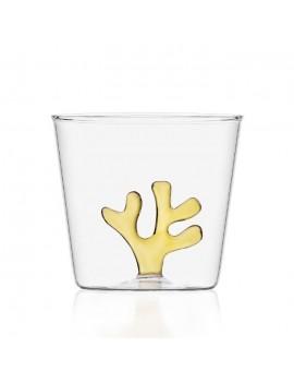 Bicchiere acqua Ichendorf corallo giallo