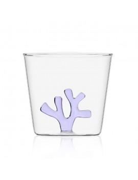Bicchiere acqua Ichendorf corallo lilla