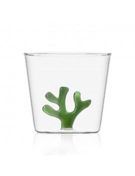 Bicchiere acqua Ichendorf corallo verde