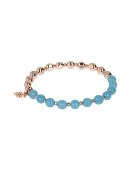 Bracciale Bronzallure Rainbow blu WSBZ01431