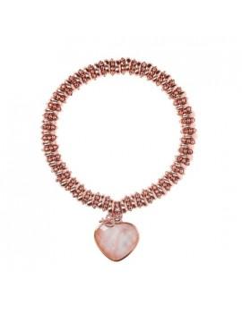 Bracciale Bronzallure cuore rosa WSBZ01069.PM