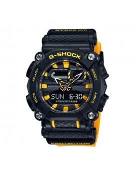 Casio G-Shock GA-900A-1A9ER nero e arancione