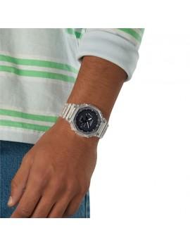 Casio G-Shock GA-2100SKE-7AER indossato