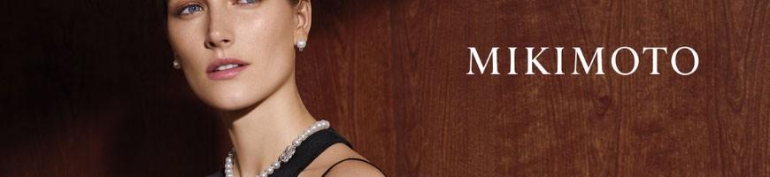 Gioielli Mikimoto con perle naturali giapponesi