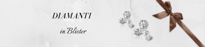 Diamanti in blister certificati da investimento